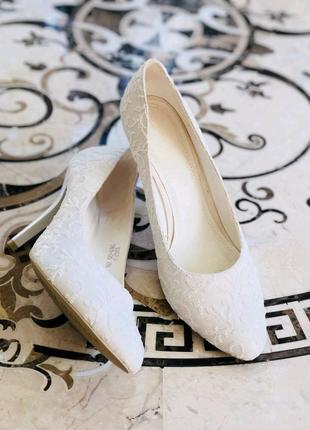 Туфли женские белые Louisa Peeress