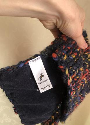 Теплый шарф palomino на флисе