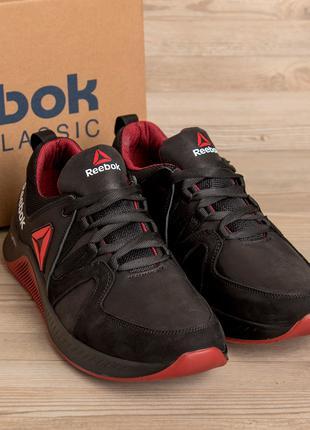 Мужские кожаные кроссовки  Reebok FLEXLIGHTX Red(40-45р)