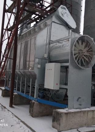 Охладитель зерна для зерносушилки