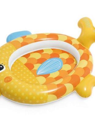 Бассейн надувной Золотая рыбка 57111