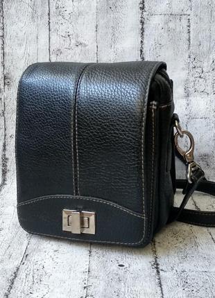 Мужская кожаная сумка для мелочей