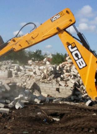 Снос демонтаж ветхих домов