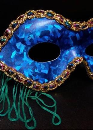 Маска карнавальная маскарадная