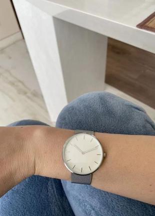 Годинник часы xiaomi youpin twentyseventeen - steel silver