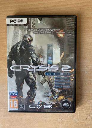 Игра Crysis 2 на диске