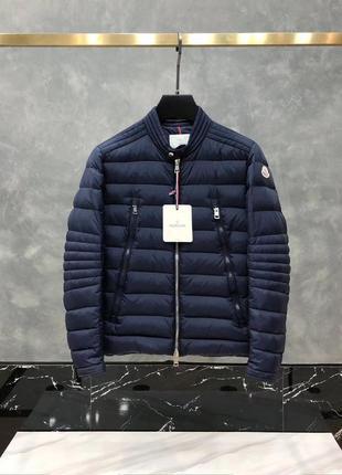 Стильный мужской пуховик куртка moncler