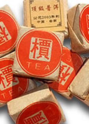 Чай черный Пуэр порционный кубик 6-8 г.