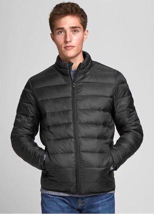 Jack & Jones, весенняя стёганая куртка (Германия), СКИДКА 40%