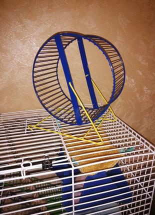 Колесо для крысы, хомяка
