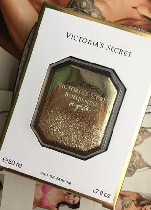 Духи bombshell nights  от victoria's secret