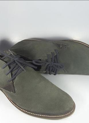 BUGATTI cтильные невесомые ботинки КОЖА 44 размер