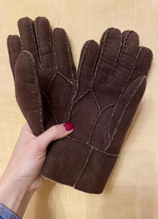 Перчатки под замш размер м-л
