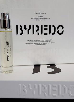 Byredo Gypsy Water Oригинал Миниатюра Travel tube 12 мл