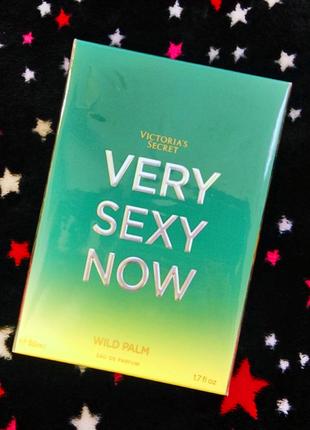 Духи very sexy now wild palm eau de parfum от victoria's secret