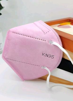 Защитная маска KN95 розовая