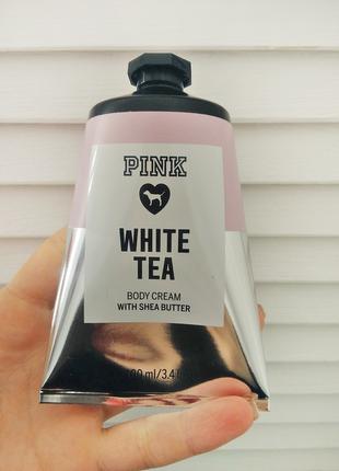 Увлажняющий крем для рук и тела hand cream white tea от victor...