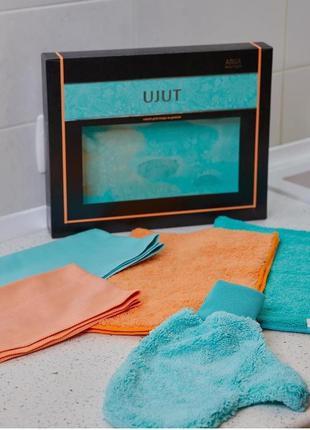 Набор для ухода за домом салфетки для уборки уют ujut 5 изделий
