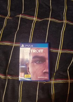 Игра Detroit на ps4