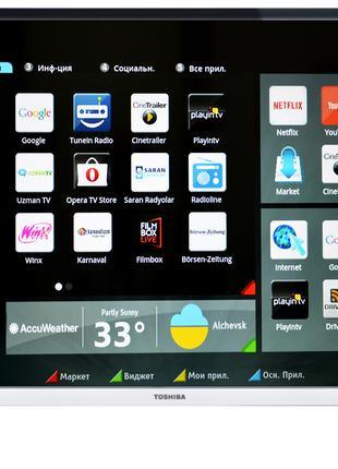 """Телевизор Toshiba 49"""" 49L5660EV, Smart TV, T2, доставка , АКЦИЯ!!"""