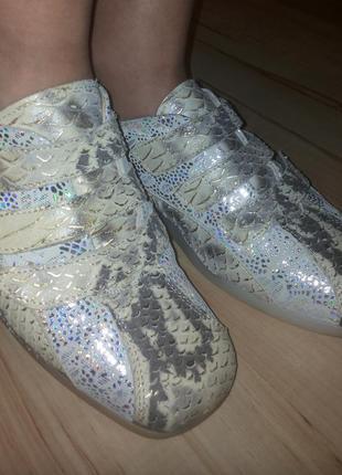 Туфли fernando pensato кожа питона