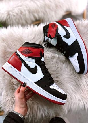 Обувь:Air Jordan Retro 1 Black Red