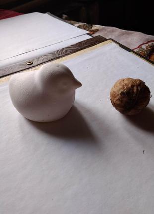 Скульптурки из гипса цыпленок