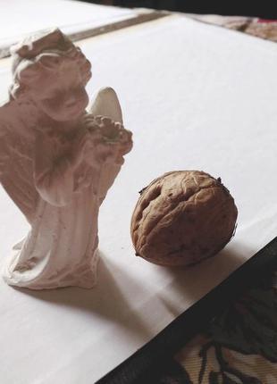 Фигурка скульптурка ангелок из гипса