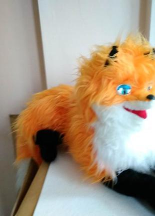 Лисичка лиса, мягкая игрушка