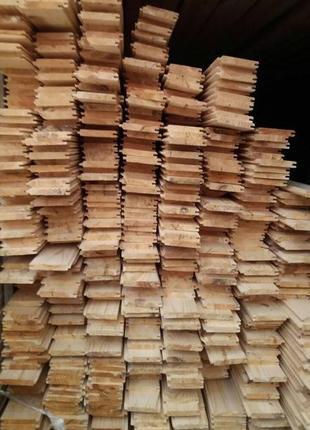Вагонка деревянная, евровагонка 1,2,3 сорт