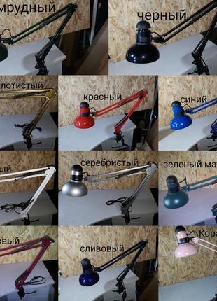 Настольная лампа,на струбцине,светильник,МТ 800,для маникюра,л...