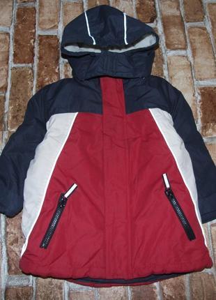 Куртка зима 2 года мальчику теплая