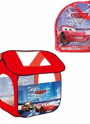 Детская игровая палатка 8009 С Тачки размер 114х102х112 см