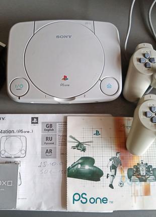 Купить приставку Sony PlayStation 1 Slim