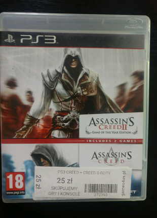 Assassin's Creed+Assassin's Creed 2 PS3