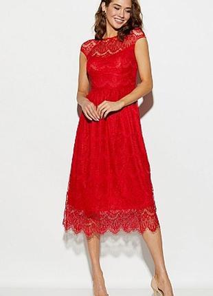 Платье кружево эксклюзив миди гипюр нарядное