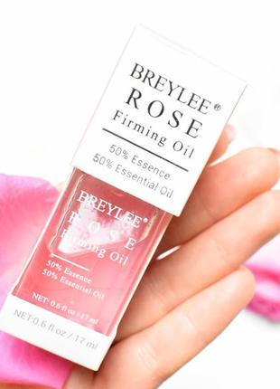 Эссенция для лица breylee rose firming essential с эффектом ли...