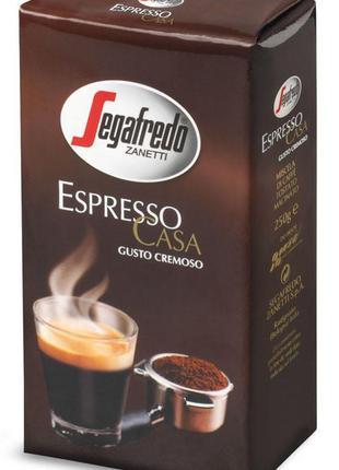 Кава мелена Segafredo espresso casa (250g)