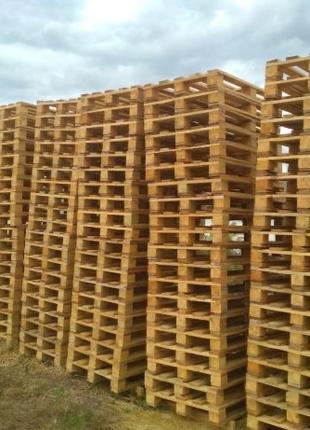 Поддони деревяный,европоддоны,палетти Б/у ,новые