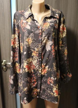 Блузка cecil в идеальном состоянии хl