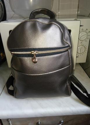 Классный бронзовый рюкзак