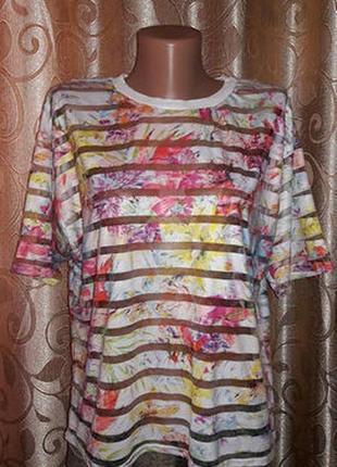 🌺🎀🌺стильная женская футболка, топ new look🔥🔥🔥