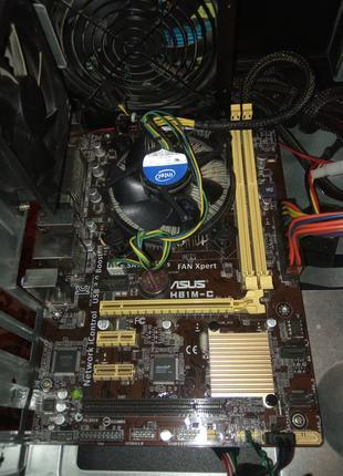 Asus H81M-C с деффектом не работает один слот памяти