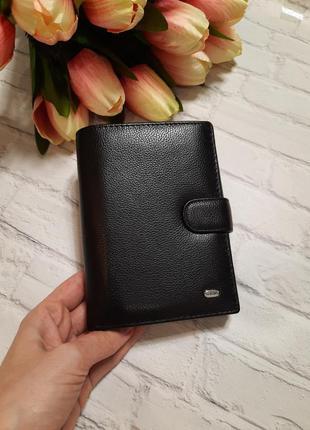 Чоловічий шкіряний гаманець мужской кожаный кошелек портмоне