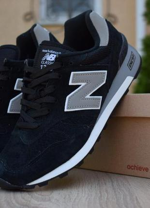 Мужские кроссовки new balance 1300 черные скидка sale