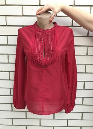 Блузка с вышивкой бисером h&m