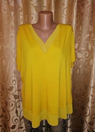 🌺🎀🌺красивая трикотажная женская футболка, блузка 20 р. marks &...