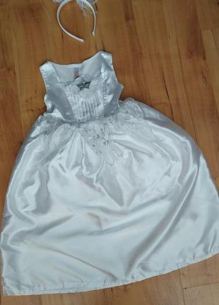 Карнавальное платье на новый год снежинка, ангел ,звездочка на...