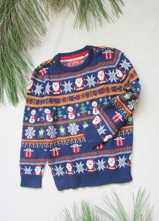 Детский новогодний свитер от tu (23), 8 лет