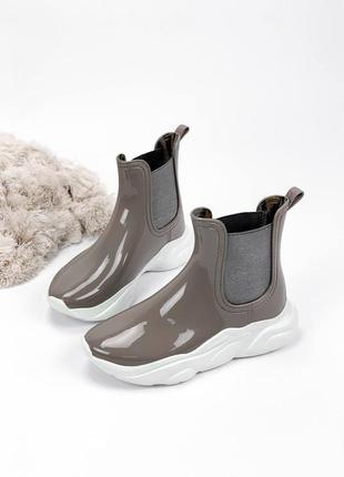 Резиновые ботинки 11163
